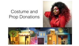 Costume and Prop Donations